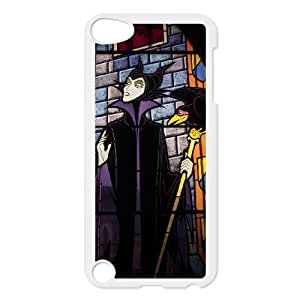 ipod 5 White phone case Disney Sleeping Beauty Maleficent Best Xmas Gift for Girlfriend UGD8022172