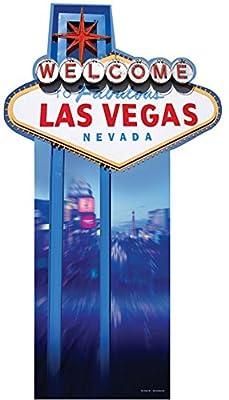 Vegas Sign Lifesize Standup Cardboard Cutouts 75 x 32in
