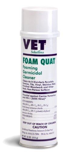 (Vetoquinol 411484 Foam Quat -Germicidal Surface Cleanser,18 oz)