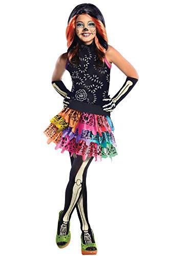 Monster High Skelita Calaveras Costume, (Monster High Costumes For Girls)