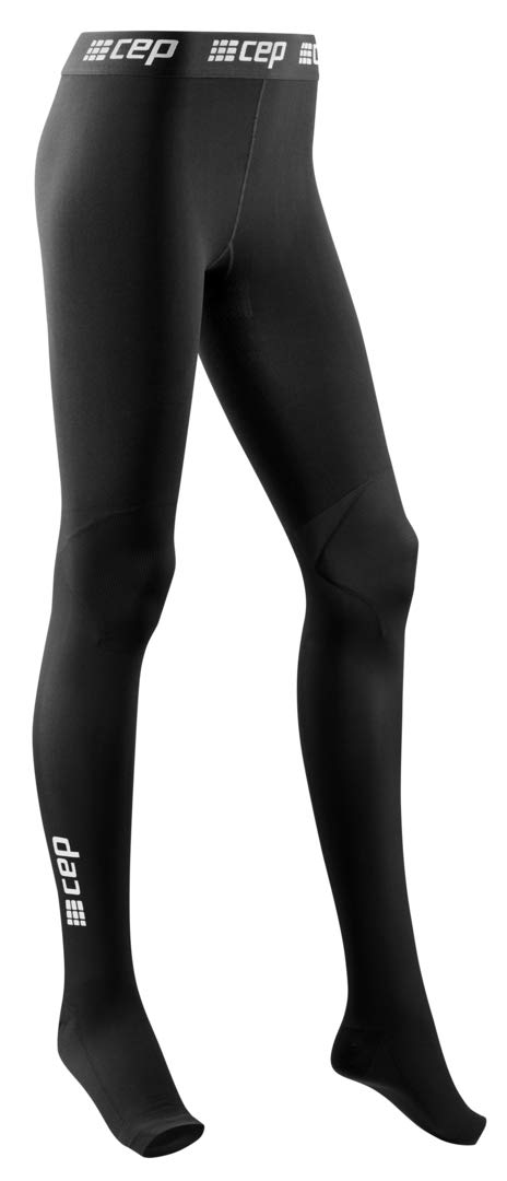 Recovery Compression Leggings - CEP Women's Recovery Pro Tights, Black I