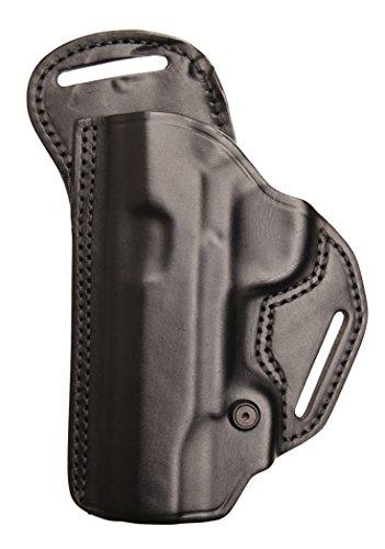 BLACKHAWK! Leather Check-Six Holster, Size 05, Black ()
