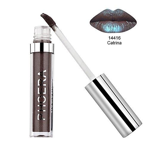 Big promotion ! Matte Liquid Lipstick Hosamtel Sexy Waterproof Long Lasting Durable Moisturizing Lip Stain Kiss-proof Lip Gloss Makeup Tool (J) -