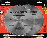 Black & Decker 2 Pack of Steel Blades (26T & 140T) Part No. 73-017