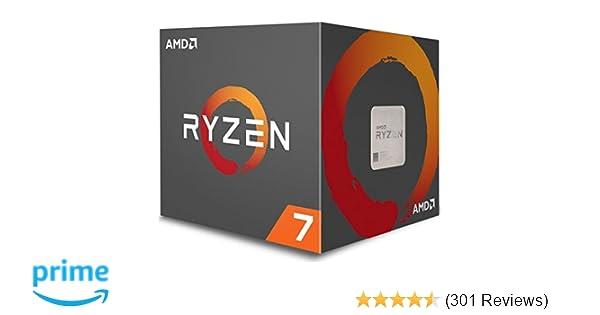 Amazon Com Amd Ryzen 7 1700x Processor Yd170xbcaewof Computers