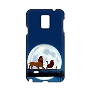 Angl 3D Case Cover cartoon Lion King Phone Case for Samsung Galaxy Note4