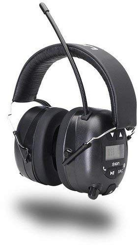 ION Audio Tough Sounds Hearing Protection Headphones with Bluetooth and Radio