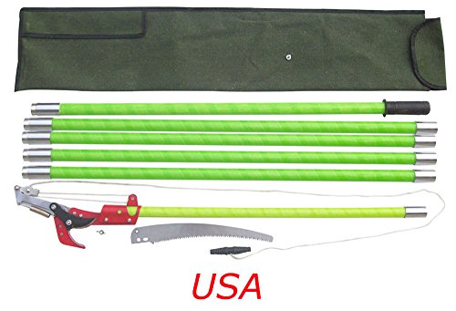 Brand New !19 Foot Tree Pole Pruner Tree Saw with Scissor Cut Home Garden by Home Garden Tools