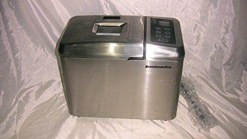 Breadman TR900S Professional-Series Breadmaker, Brushed Stai