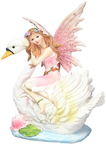 Koehler Home Indoor Decorative Disney Swan Fairy Storage Coin Money Bank Figurine