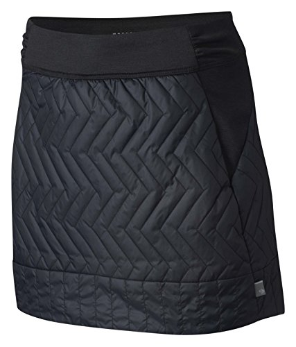 Down Skirt (Mountain Hardwear Trekkin Insulated Mini Skirt - Women's Black X-Large)