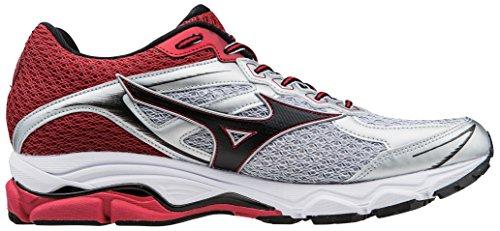 Mizuno Scarpa Running Sneaker Uomo Wave Ultima 7 Bianco Rosso