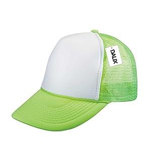 DALIX Neon Trucker Caps Adjustable Snapback Hat