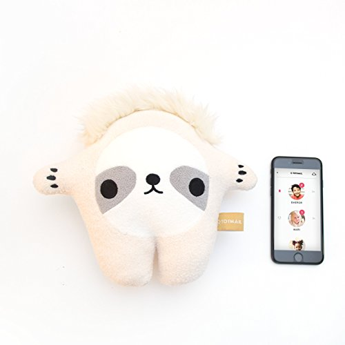 Talkie by Toymail: Chunk the Sloth, WIFI Voice chat smart toy lets kids stay connected to you, As seen on Shark Tank
