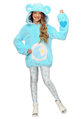 Care Bears Deluxe Bedtime Bear Tween Hoodie Costume Large