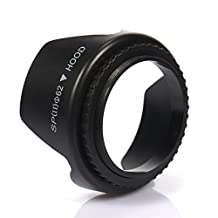 Shantan 62mm 67mm 72mm 77mm 82mm Lens Hood Screw Mount for Canon Nikon Sony Camera