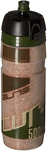 Elite 0141304 Turacio Water Bottle, Green/Brown