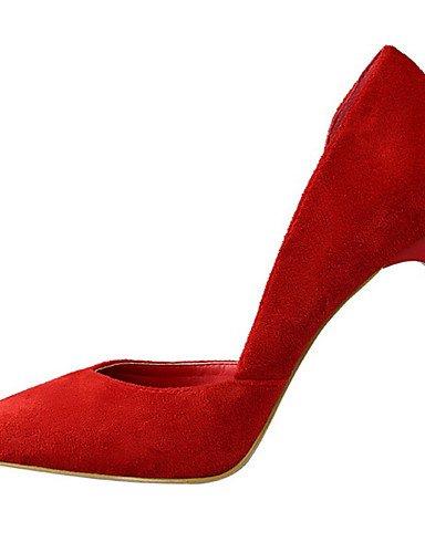 Uk4 5 tacones Ggx Cn36 Uk4 Fiesta 7 Red Mujer Confort ante us6 Gris us6 Y vestido Caqui tacón Cn37 Rojo Eu36 negro Noche 5 5 tacones Stiletto Eu37 Gray Rosa Puntiagudos C1RCp8W