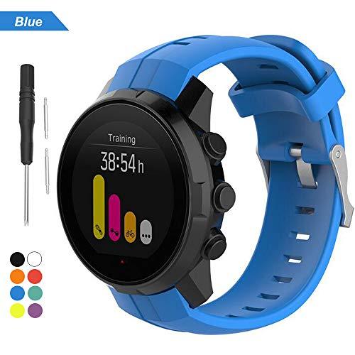 Bemodst Strap voor Suunto Spartan Sport Series Smartwatch, Vervanging Accessoires Siliconen Horloge Polsband Armband…