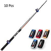 Fishing Rods Belt Stretchy Rod Straps Fishing Tackle Ties...