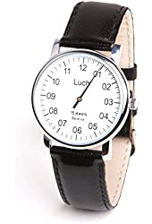 Unique Authentic Russian Water Resistant Wind up Watch LUCH with ONE Hand