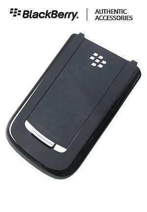 OEM (Original) Black Replacement Battery Door Back Cover for Sprint Blackberry Tour 9630