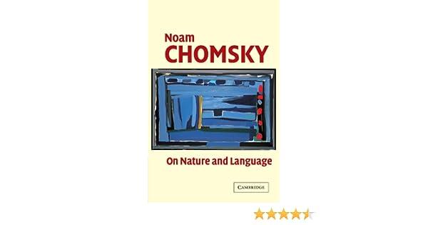 Amazon com: On Nature and Language (9780521016247): Noam