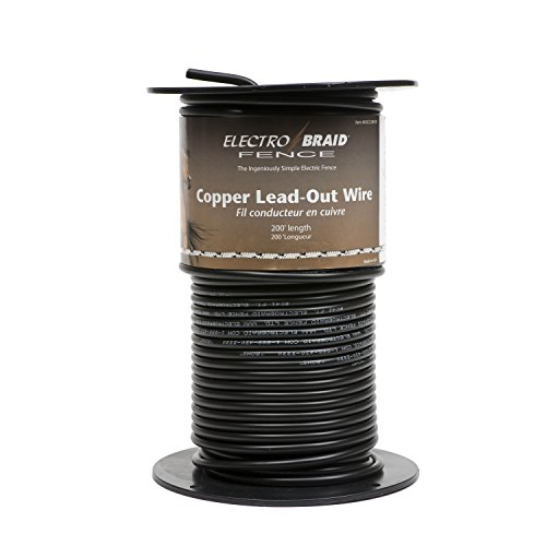 ElectroBraid UGCC200-EB High Voltage Insulated Copper Lead Out Wire