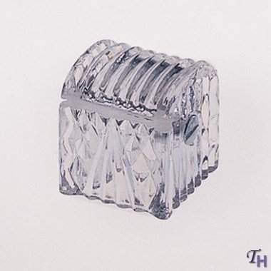 LEAD CRYSTAL STAMP HOLDER
