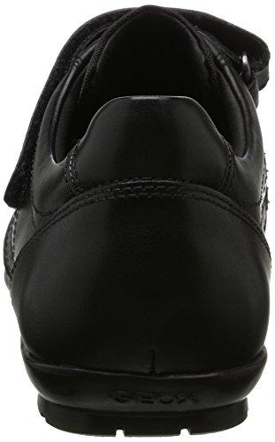 Black para Geox Symbol D Negro Oxford Hombre Uomo wCvO0C