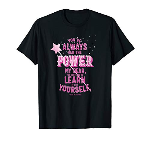 The Wizard Of Oz Glinda (Wizard of Oz Glinda Quote, Power Learn Yourself for women)