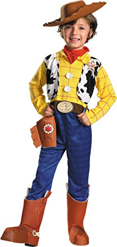 Costumes For All Occasions Dg5234L Toy Story Woody Dlx Ch 4 To 6 (Cowboy Boot Spats)