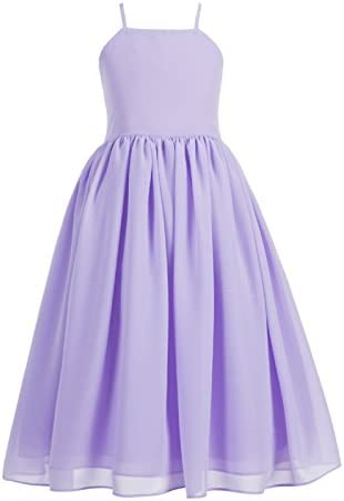 Chiffon Formal Flower Dresses Bridesmaid