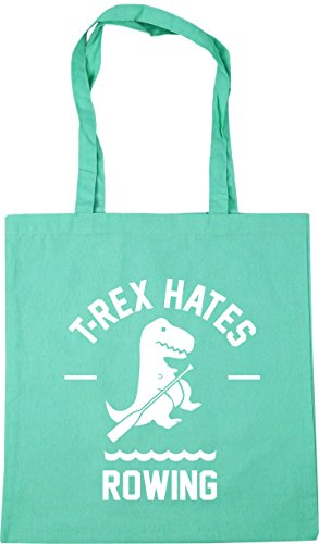 Beach Gym 10 42cm Rex HippoWarehouse Mint Shopping x38cm T Tote Rowing Bag Hates litres 0xYPnq