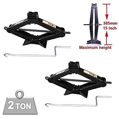 Scissor Jack 2 Ton Portable Crank Speed Handle (Pack of 2)