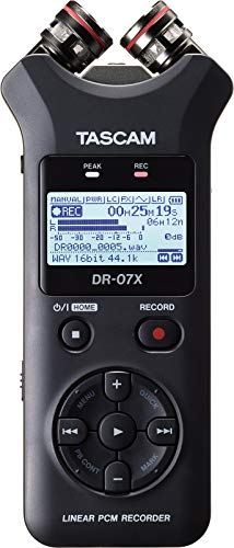 (Tascam DR-07X Stereo Handheld Digital Audio Recorder and USB Audio Interface)