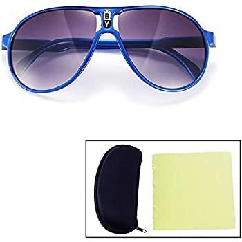 a71a6858668 Sealive Fashion Children Sunglasses Boys Girls Glasses Frame Suitable for  Various Face Types(Blue)