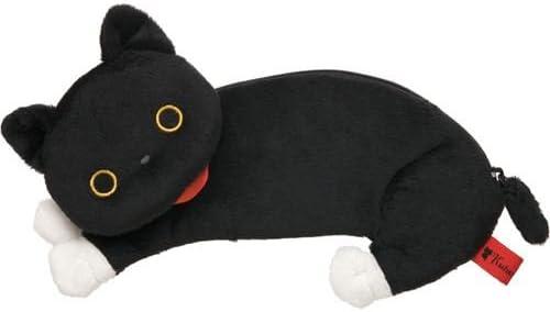 Estuche negro peluche gato Kutusita Nyanko de San-X: Amazon.es: Juguetes y juegos