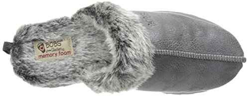 Skechers Keepsakes - Winter Wonder - Zapatillas de estar por casa de sintético para mujer Charcoal