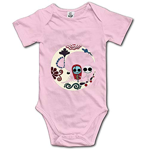 Nightmare Before Christmas New Parents Top Baby Bodysuit