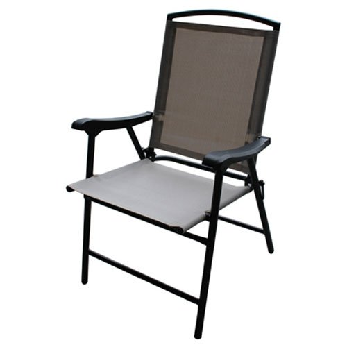 Four Seasons Westfield Outdoor 204553 S13-S998T FS Flood Sling Chair, Tan by Four Seasons