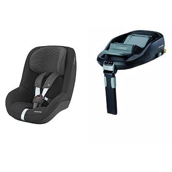 Ongekend Maxi-Cosi Pearl Car Seat, Nomad Black + FamilyFix Car Seat Base MS-25