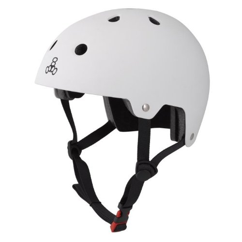 Casco da 8 Wei Bianco Triple ciclismo Brainsaver Rq6x55wC