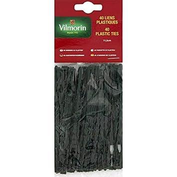 Vilmorin - Lien plastique - 23cm - sachet de 40 liens