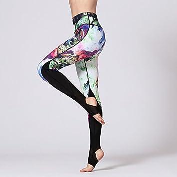 JIALELE Pantalon Yoga Polainas_Deportes De Secado Rápido ...