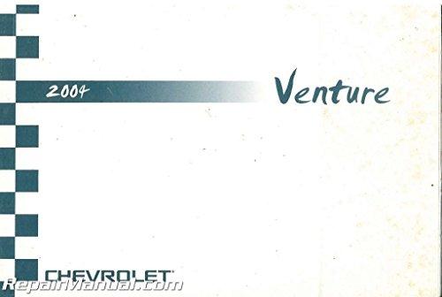 2004-Chevrolet-Venture 2004 Chevrolet Venture Owner's Manual Used