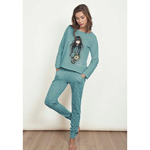 Santoro - Pijama Mujer The White Rabbit - Azul, XL