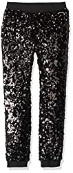 Big Sequin Pull on Pants