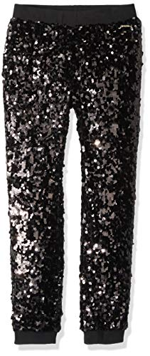 Guess Girls' Big Sequin Pull on Pants