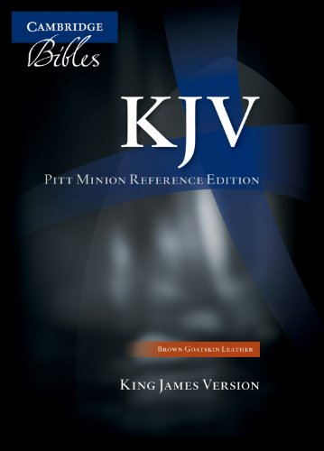 KJV Pitt Minion Reference Edition (Minions In The Bible)